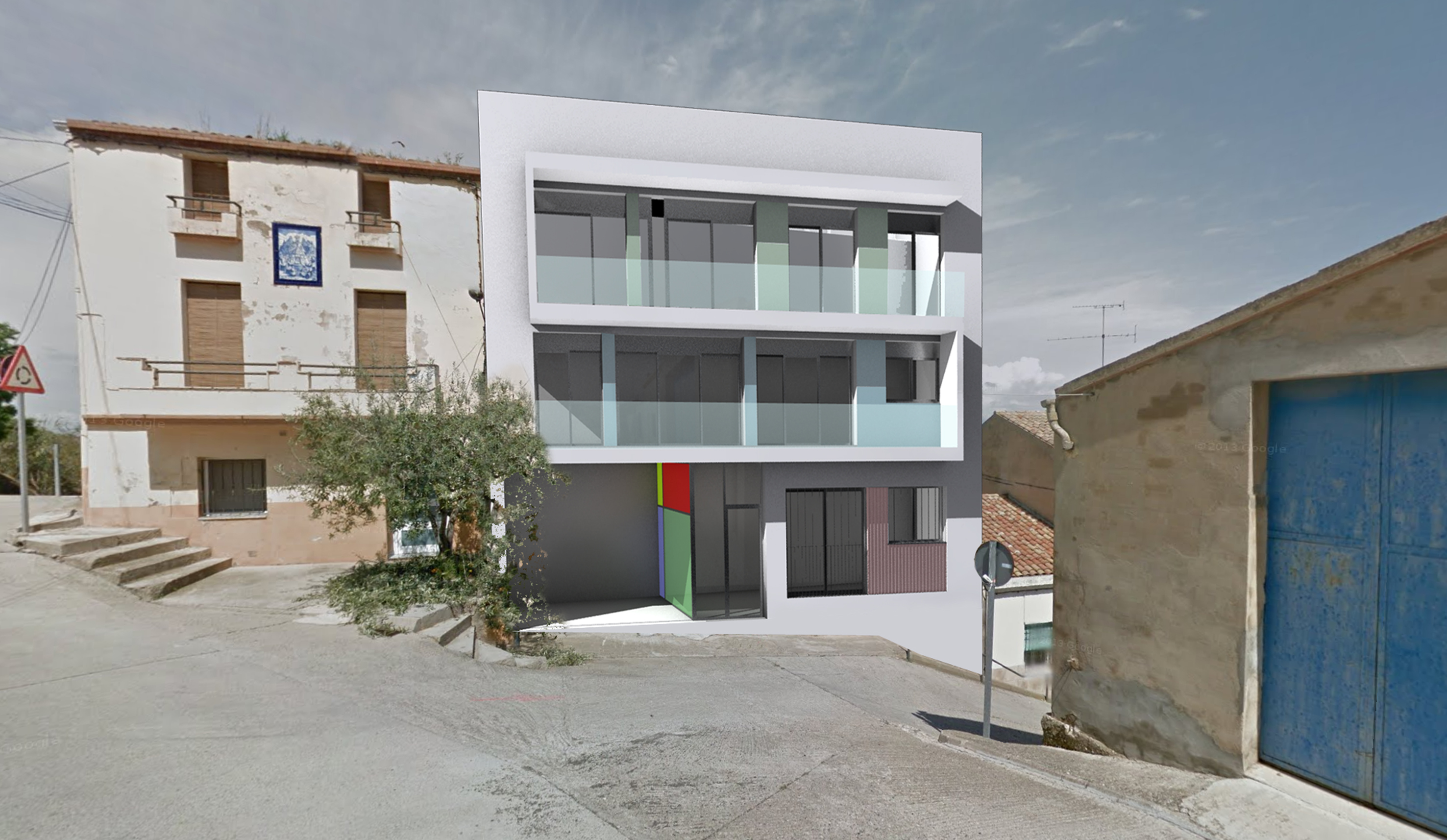 EDIFICIO PLURIFAMILIAR MIRALCAMP - Despacho de Arquitectura - Arquitecto Miralcamp